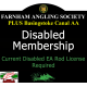 Disabled Membership with Basingstoke Canal AA Membership