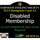 Disabled Membership Renewal with Basingstoke Canal AA Membership