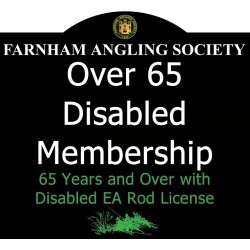 Over 65 Disabled Membership 2021-2022