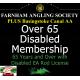 Over 65 Disabled Membership with Basingstoke Canal AA Membership