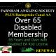 Over 65 Disabled Membership Renewal with Basingstoke Canal AA Membership