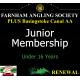 Junior Membership Renewal with Basingstoke Canal AA Membership